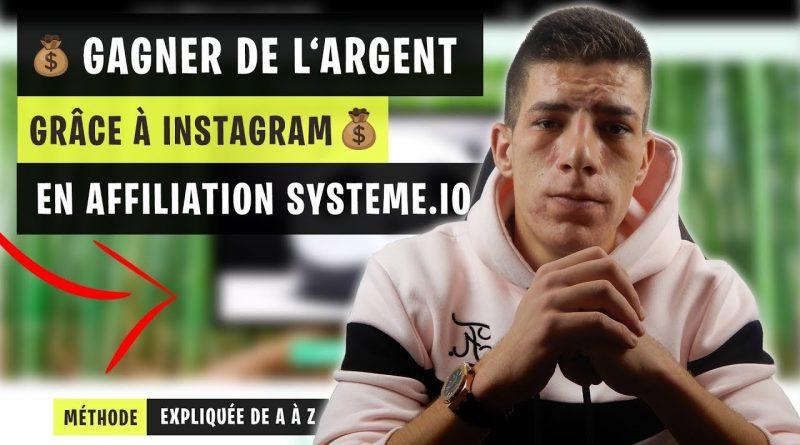 Comment faire de l'affiliation sur Systeme.io grâce à Instagram en 2021