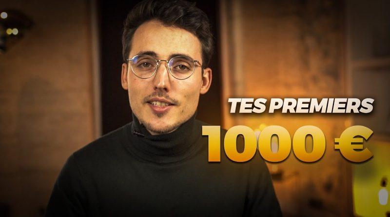Comment Gagner Ses Premiers 1000€ sur Internet