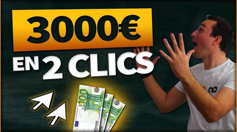 Comment Gagner 3 050 € Par Mois En 2 Clics De Souris ! (Argent Facile Paypal)