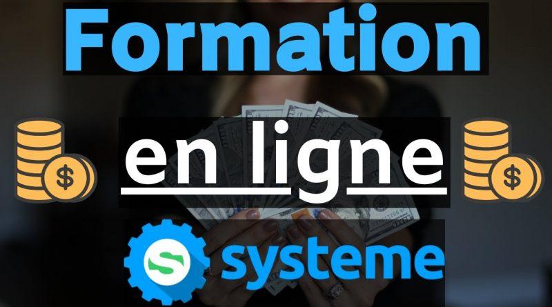 Faire une FORMATION EN LIGNE avec SYSTEME.IO (Guide Complet)